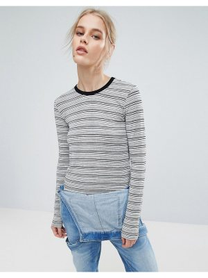 Pepe Jeans pat long sleeved striped top
