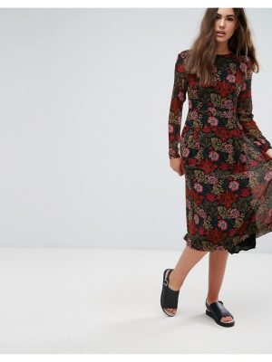 Pepe Jeans Peggy Burnt Floral Dress