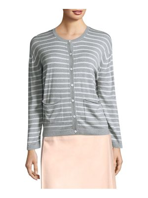 Piazza Sempione stripe crewneck sweater