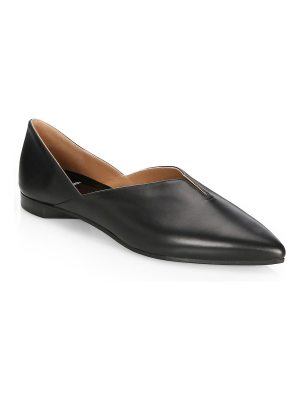 Pierre Hardy point toe leather loafers
