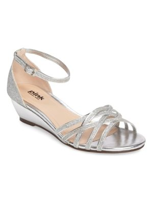 PARADOX LONDON PINK avery wedge sandal