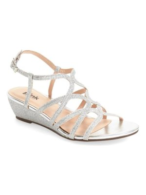pink paradox London 'opulent' wedge sandal
