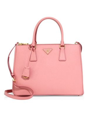 Prada medium galleria leather satchel