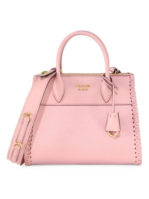 Prada paradigme small leather satchel