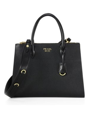 Prada paradigme saffiano leather satchel