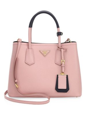 Prada small saffiano leather satchel