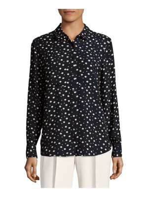 Premise Dotted Casual Button-Down Shirt