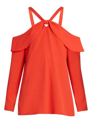 Proenza Schouler Off The Shoulder Crepe Top