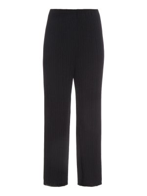 Proenza Schouler Pleated crepe flared trousers