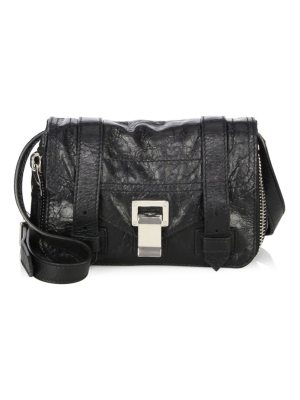 Proenza Schouler ps1+ mini leather crossbody bag
