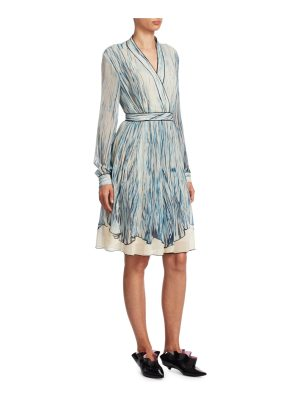 Proenza Schouler silk chiffon dress