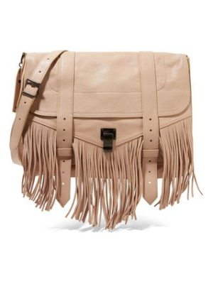 Proenza Schouler the ps1 medium fringed leather shoulder bag