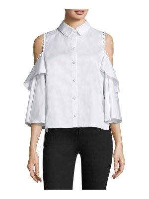Prose & Poetry ramona cold-shoulder shirt