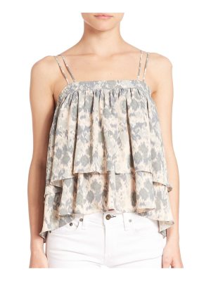 Prose & Poetry Tiered Ruffle Tank Top