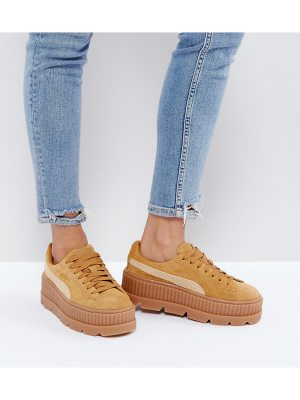PUMA X Fenty Suede Creepers In Sand