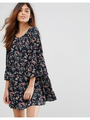 QED London Floral Swing Dress