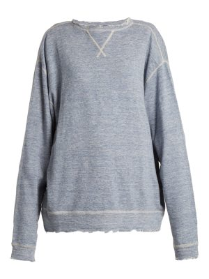 R13 Linen and cotton-blend sweater