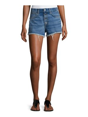 Rag & Bone Lou High-Rise Cutoff Shorts