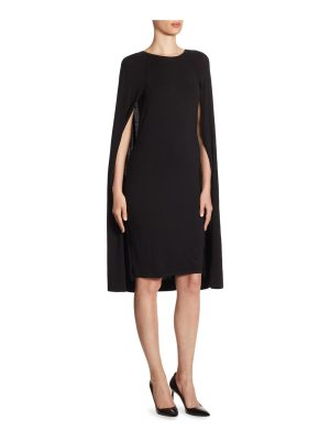 Ralph Lauren Collection iconic style cape dress