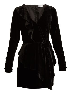 RAQUEL DINIZ anna velvet dress