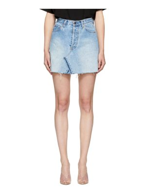 Re-done Re/Done  Levi's Edition Denim High-Rise Miniskirt