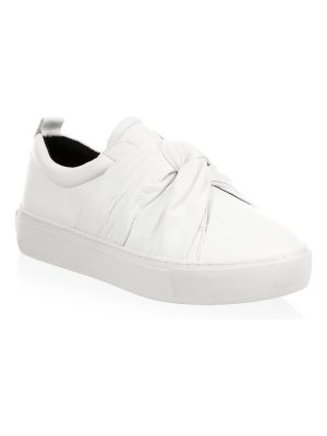 Rebecca Minkoff nicole leather low top sneakers