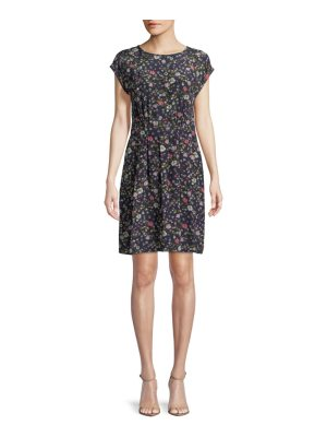 Rebecca Taylor Floral-Print Silk Dress