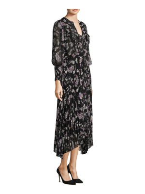 Rebecca Taylor floral-print jewel dress