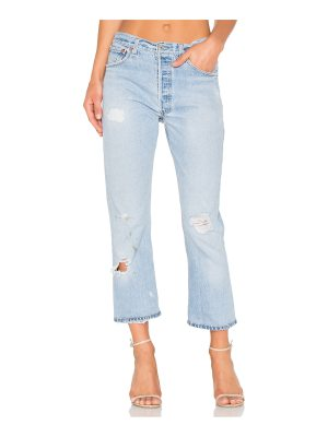 RE/DONE Levis High Rise Crop Straight