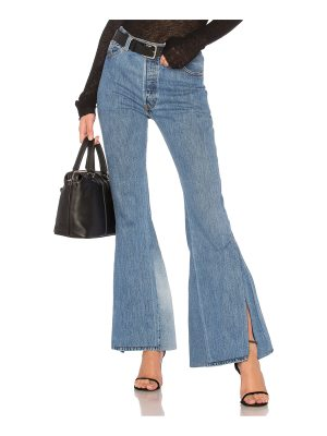RE/DONE LEVI's High Waisted Slit Jean