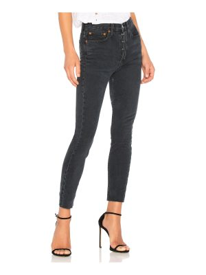 RE/DONE Originals High Rise Ankle Crop with Stretch