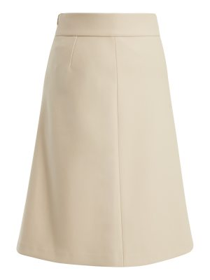 Red Valentino High-rise A-line skirt