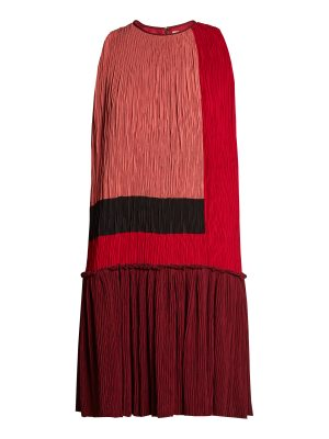 Roksanda Himegi colour-block plissé dress