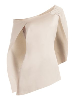 Roland Mouret Heartwell asymmetric satin top