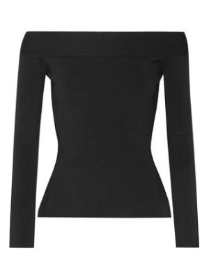 Roland Mouret tasso off-the-shoulder stretch