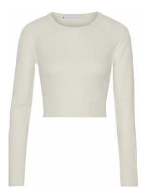 Rosetta Getty cropped wool and cashmere