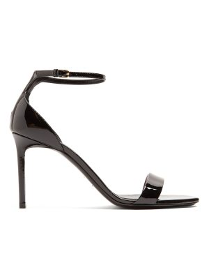Saint Laurent Amber patent-leather sandals