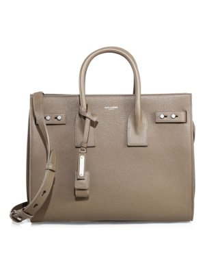 Saint Laurent small soft sac de jour leather satchel