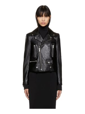 Saint Laurent Classic Leather Motorcycle Jacket