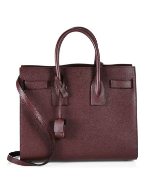 Saint Laurent small sac de jour leather satchel