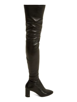 Saint Laurent Loulou over-the-knee leather boots