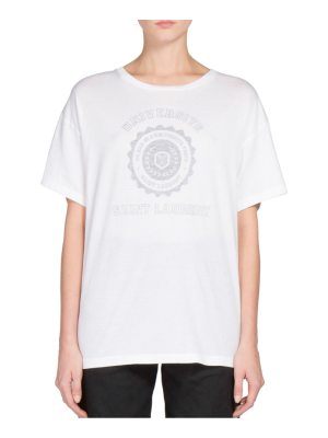 Saint Laurent slp universite cotton tee
