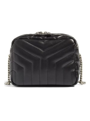 Saint Laurent small loulou leather bowling bag