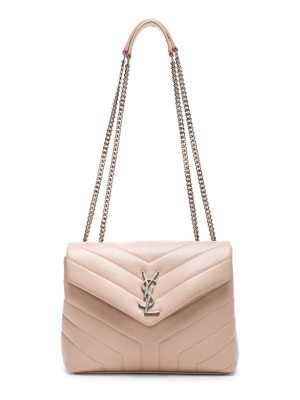 Saint Laurent Small Supple Monogramme Loulou Chain Bag
