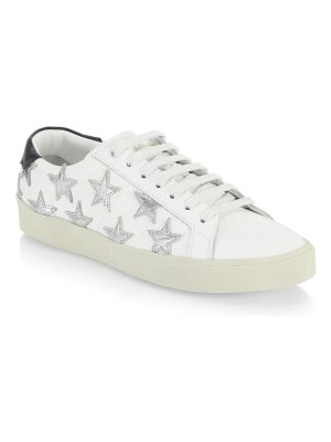 Saint Laurent star lace-up sneakers