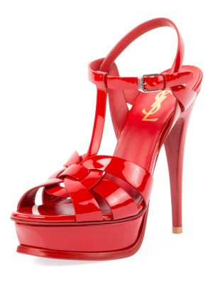 Saint Laurent Tribute Patent 135mm Sandal