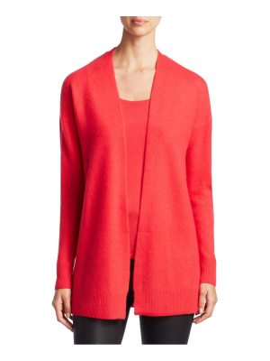Saks Fifth Avenue collection featherweight cashmere cardigan