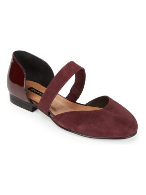 AVA & AIDEN Jamania Mixed Media D'Orsay Flats