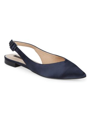 AVA & AIDEN Point-Toe Slingback Flats