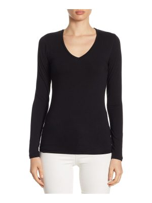 Majestic Filatures soft touch v-neck top
